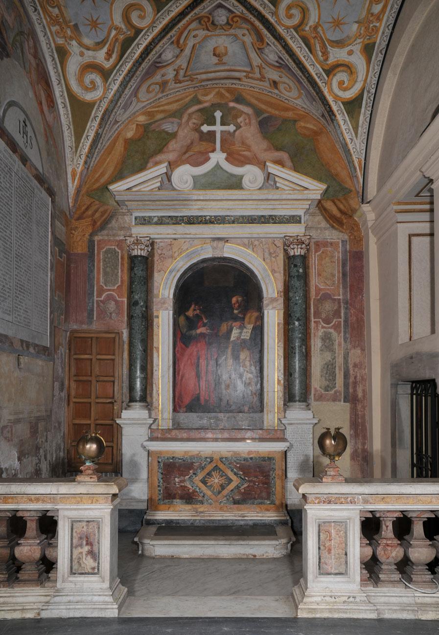 frescoes  basilica of st  cecilia in trastevere  rome